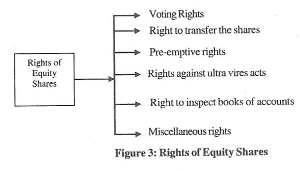rights of equity shares